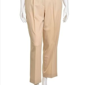 Escada Margaretha Ley High Waist Wool Pants